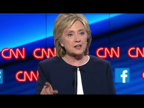 (Democratic Debate) Hillary Clinton: Everybody here has changed positions