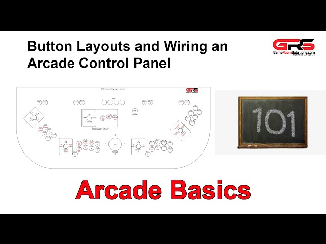 Arcade Button Layouts and Wiring 101