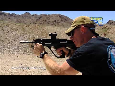 Steyr AUG A3 SA/USA Rifle Review and Demonstration