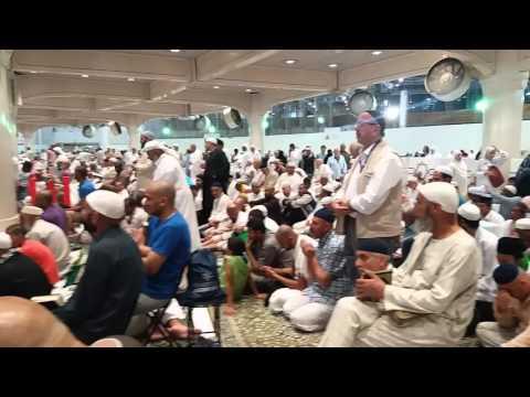 Adzan Subuh di Masjidil Haram Mekah