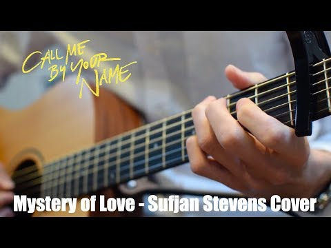 Mystery of Love - Sufjan Stevens Instrumental Guitar Cover (Tutorial in Description)