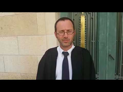Lawyer Discusses UN Construction in Jerusalem (Hebrew)