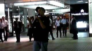 2010.9.21 川崎駅 ストリート ☆真柴元気 mixiコミュ http://mixi.jp/vie...