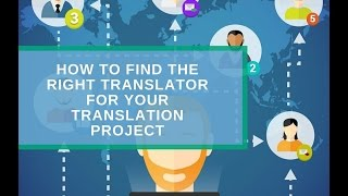 How to Find the Right Translator for your Translation Project(Hello, this is Simon from Russian Translator Pro – fast, affordable and quality English-Russian translations. You can request a free quote or order translation at ..., 2016-11-18T07:28:50.000Z)