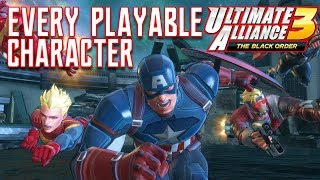 Full Marvel Ultimate Alliance 3 Character Roster Revealed!
