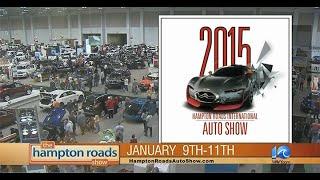 Video HRADA International Auto Show Hampton Roads Show Special - WAVY TV 10 download MP3, 3GP, MP4, WEBM, AVI, FLV Agustus 2018