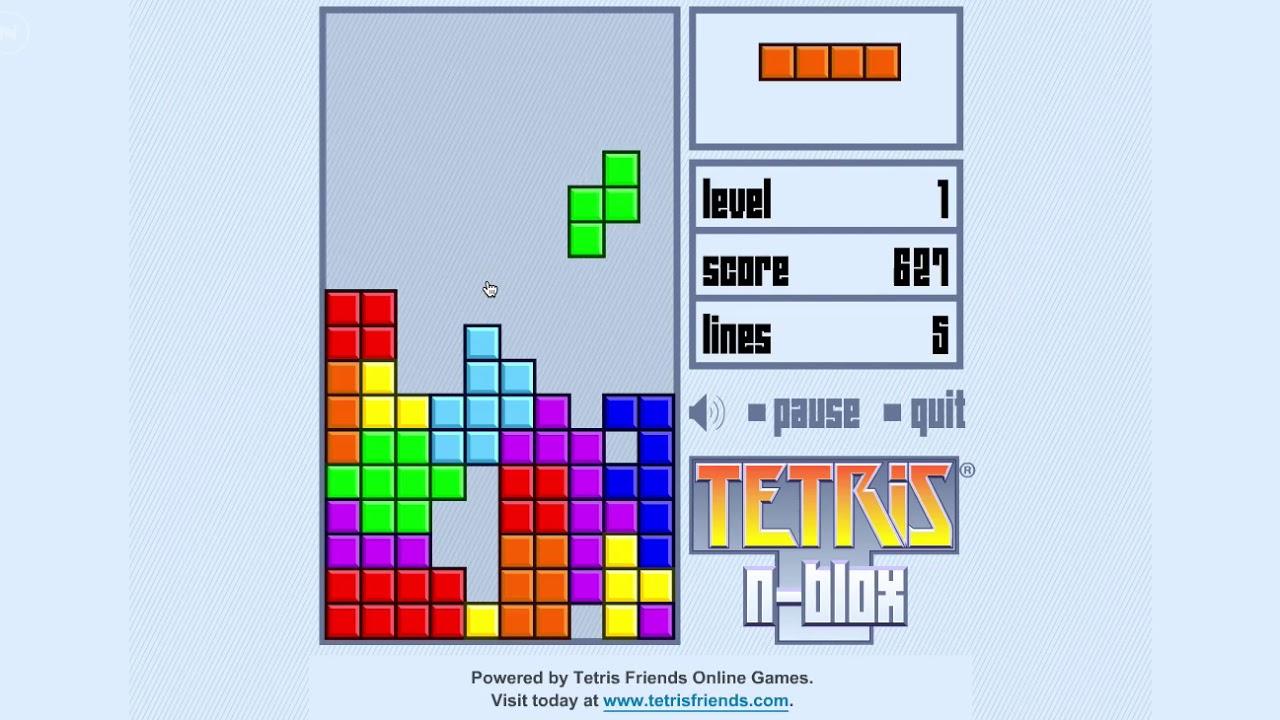 Tetris the flash game