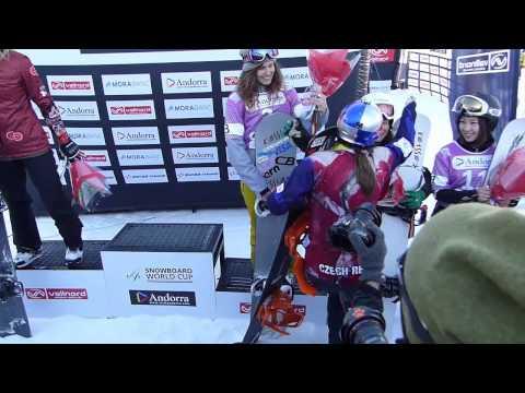 Eva Samkova - UCI  Andorra Snowboard Champion 2014