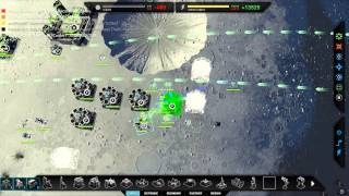 Planetary Annihilation Beta : Epic Match! 3v3v5v5 Team Game!