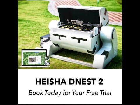 HEISHA DNEST2 redefine los drones autónomos