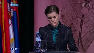 Премьер министр Сербии назвала удар авиации НАТО по белградскому телецентру варварским актом