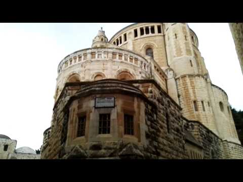 Christ is risen! Jerusalem churches bells are ringing in Easter Sunday (near the Last Supper Room)