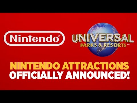 NEW Entire Nintendo World Officially Announced for Universal Parks!