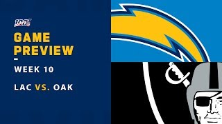 Why the Chargers Will Beat the Raiders | TNF Week 10 Game Preview