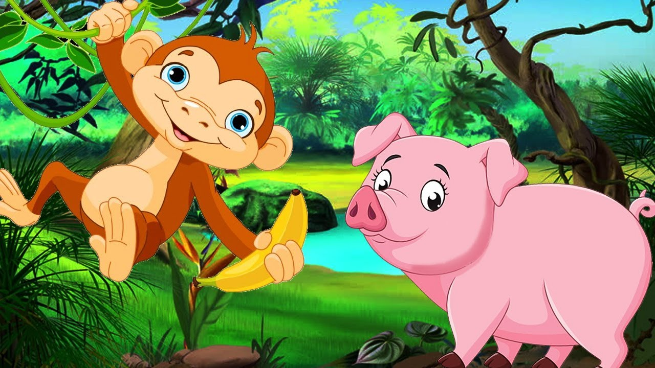 Image result for The Monkey and The Pig