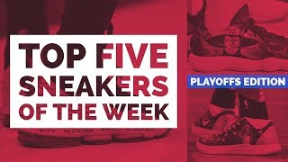 Top 5 Sneakers of the 2018 NBA Playoffs - Game 1 | #NBAKICKS