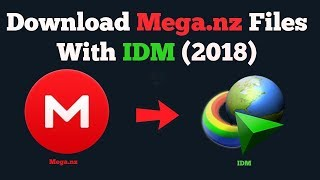 How To Download MEGA Files With IDM Faster Speeds & Resumes (Without any client)