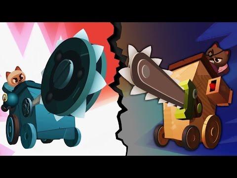 БИТВА КОТЯТ на САМОДЕЛЬНЫХ БОЕВЫХ МАШИНАХ Игровой мультик CATS: Crash Arena Turbo Stars