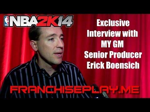 NBA 2K14—My GM News, Exclusive Interview with Senior Producer Erick Boenisch