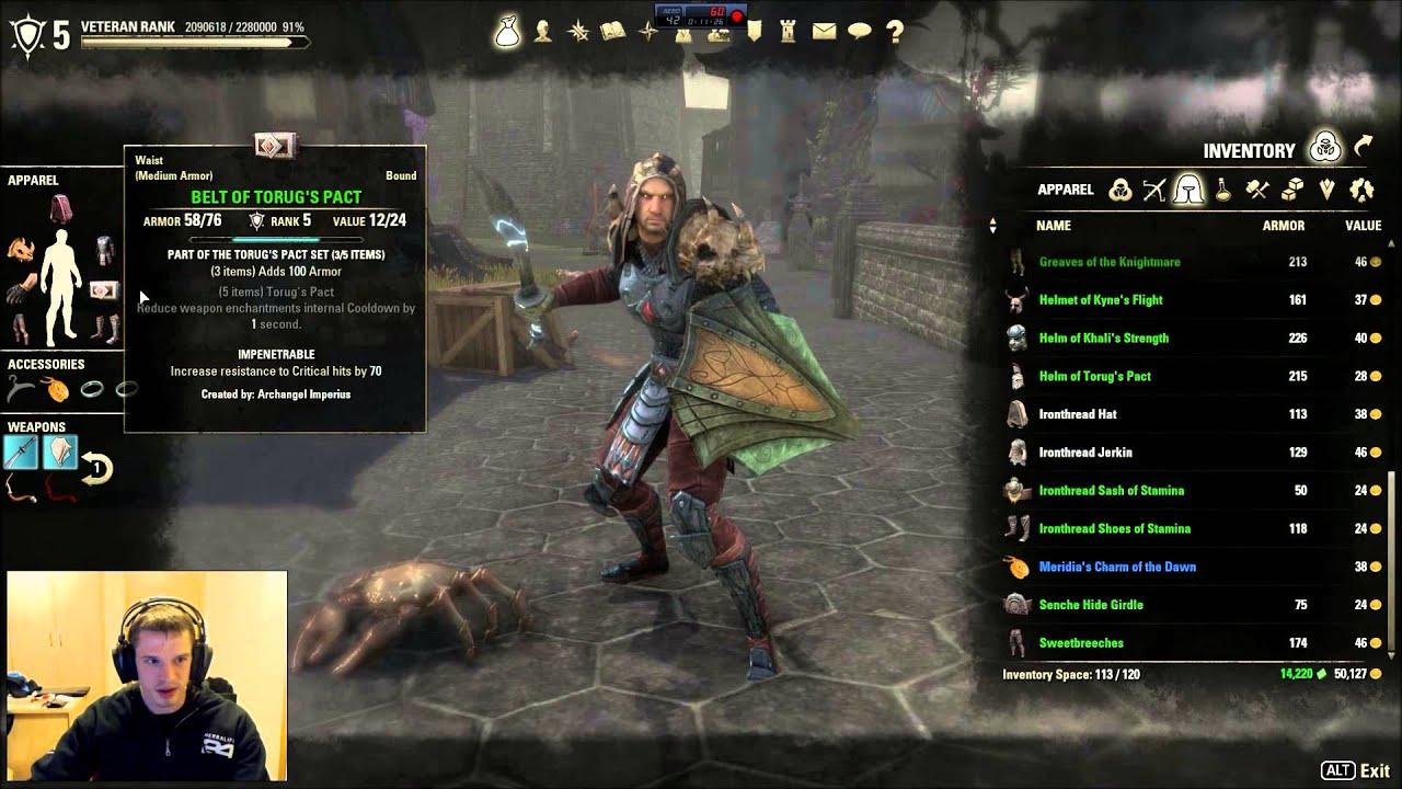 Eso Tamriel Unlimited Best Archer Build