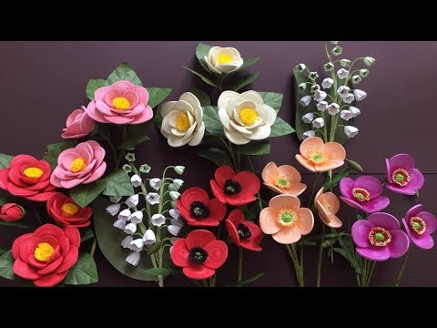 Quilling Poppy FLower Tutorial | DIY Paper Poppy Flower Home Decoration