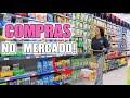 COMPRAS DO MÊS NO MERCADO | VLOG #BIATODODIA1