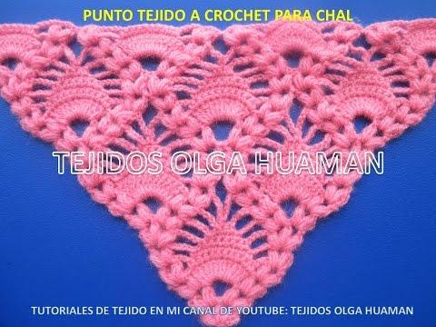 Chal Tejido Crochet