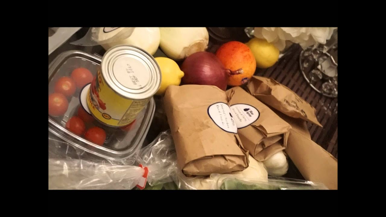 Blue apron unboxing