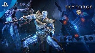Skyforge - The Mechanoid War Release Trailer   PS4