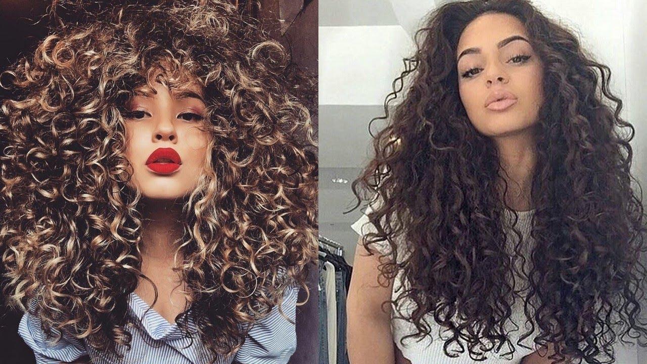 The Most Beautiful Curly Hair In The World 1 Cheias De Charme Tutoriais