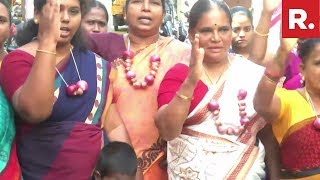 Women's Organisation AIDWA Protests In Coimbatore Against Sky-High Onion Prices