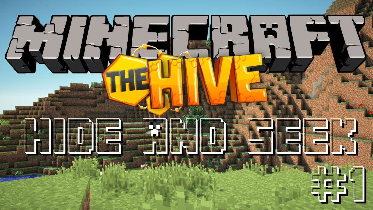 Minecraft Hide And Seek On The Hive  And Thanks For Hitting  Subs Thx