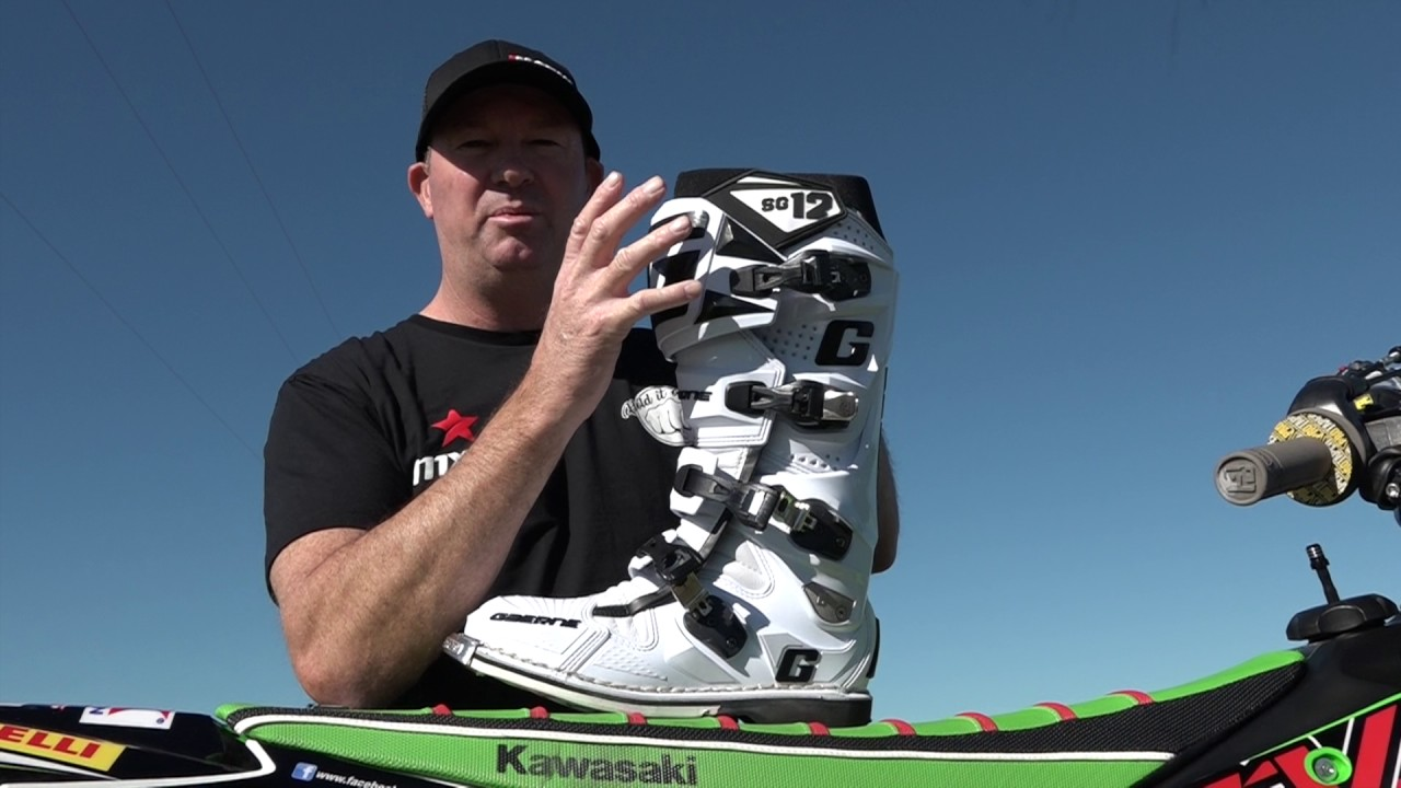 Gaerne Boots Sg12 >> Mxtv Product Review Of The Gaerne Sg12 Boots