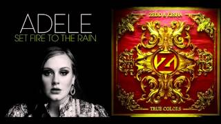 Adele vs. Kesha - Set Colors To The Rain (DJ Blow Mashups) [Download in description (Unpitched)]