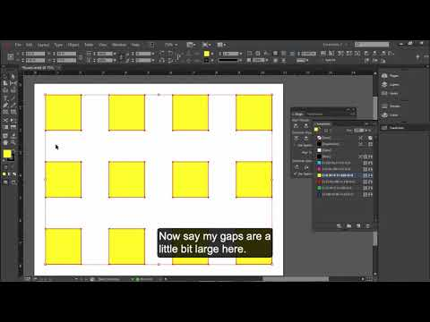 Live Distribute And The Gap Tool In InDesign Cc