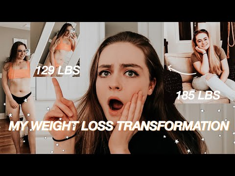 my weight loss transformation: 180lbs to 129lbs at 19 years old *with photos*