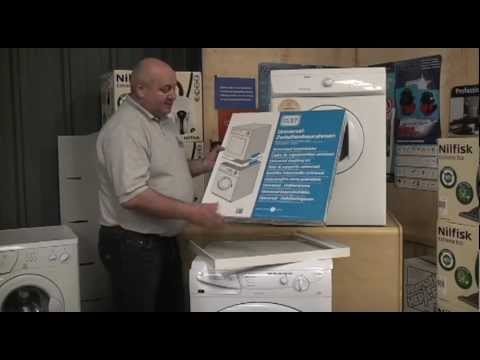 Best Top Loading Washing Machine >> Universal stacking kit for washing machine and tumble dryer - YouTube