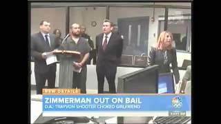 George Zimmerman DV segment on NBC's Today show (Kerry Sanders) Nov 20 2013