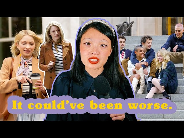 the gossip girl reboot was meh (a costume review)
