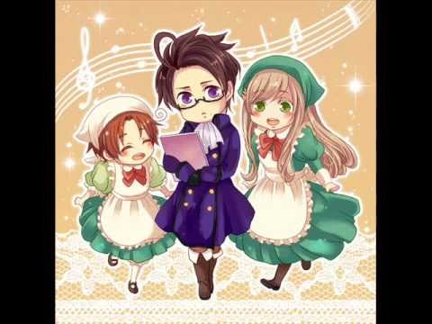 Austria- Marukaite Chikyuu [Full Character Song with Lyrics]
