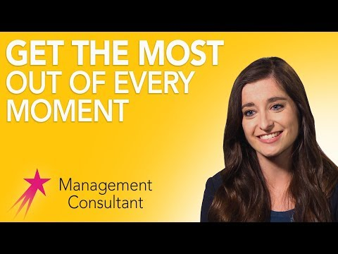 Management Consultant: Being Present in the Moment - Alanna Hughes Career Girls Role Model