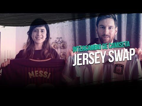 Messi cumplió el sueño de una de sus fans