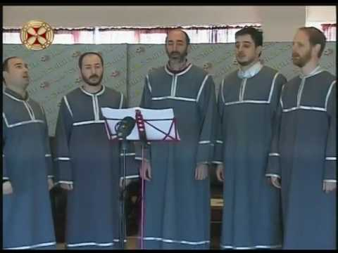 Aghsavali Ensemble - Georgian Patriarchate Television Program (March, 2017)