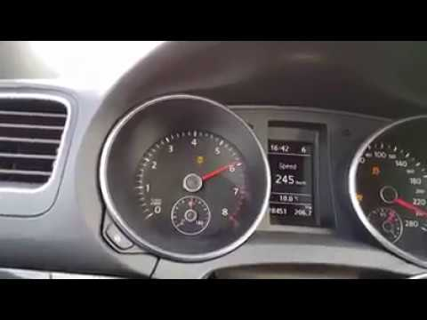 vw golf 6 1 4 tsi 160 hp top speed youtube. Black Bedroom Furniture Sets. Home Design Ideas