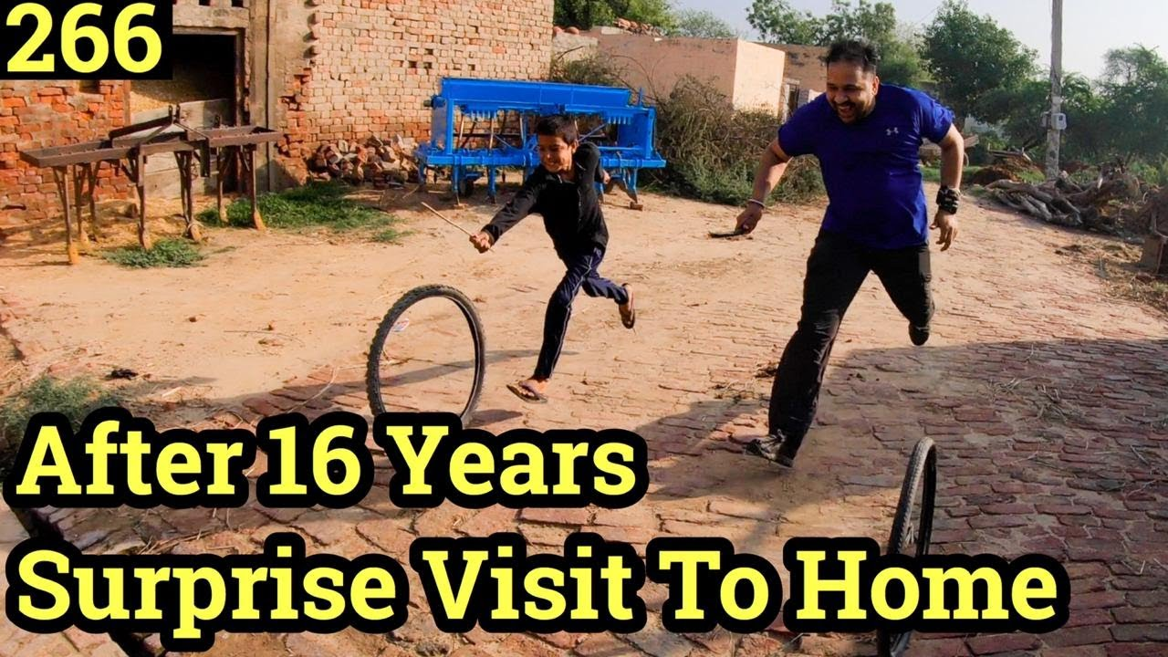 Surprise Visit to Home After 16 Years in Village, Cycle Baba, Ep. 266