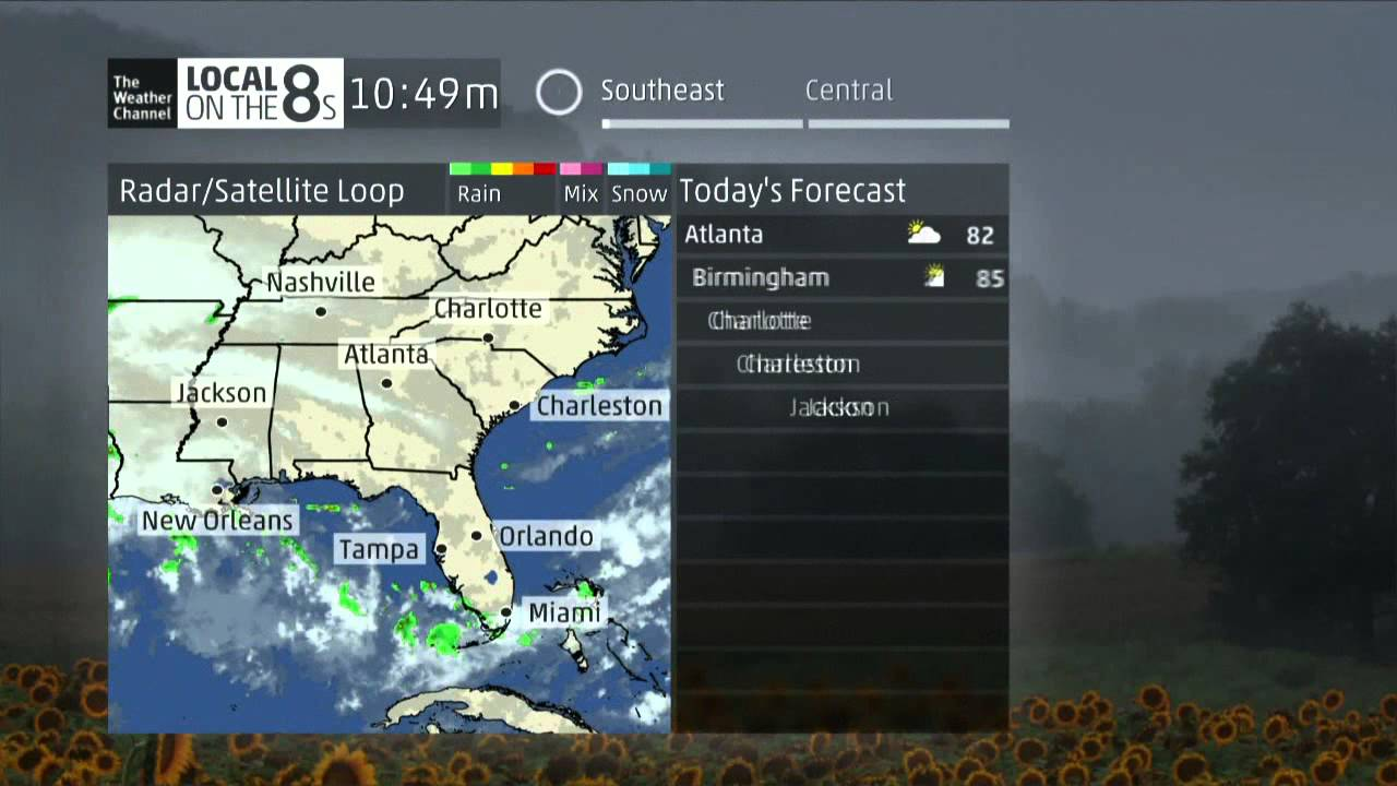 Local Weather Channel Weather Forecast : New weather channel local on the s music youtube