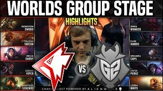 GRF vs G2 Highlights Worlds 2019 Group Stage Day 2 - Griffin vs G2 Esports Highlights Worlds 2019