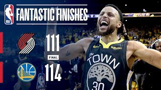 The Trail Blazers & Warriors Go Down To The Wire In Game 2 | May 16, 2019