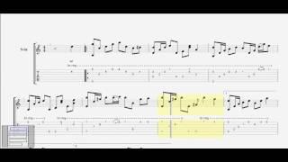 Giọt lệ đài trang (Châu Kỳ) guitar solo bolero tab by D U Y (Am)