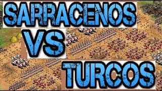 Age of Empires 2: Sarracenos Vs Turcos - Triple h - Gameranger -Black ForesT NR 40